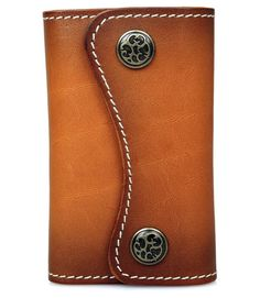 ARTIM - luxusné ručne vyrobené etue na kľúče - hovädzia koža (koňak) Wallet, Chain, Bags, Fashion, Luxury, Pocket Wallet, Handbags, Moda, La Mode
