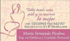 Fernanda Picabea Centro Integral de Estetica y Salud