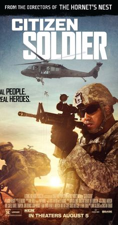 """Directed by David Salzberg, Christian Tureaud.  With Jordan Alex, James Tyler Brown, Martin Byrne, Jared Colson. CITIZEN SOLDIER is a dramatic feature film, told from the point of view of a group of Soldiers in the Oklahoma Army National Guard's 45th Infantry Brigade Combat Team, known since World War II as the """"Thunderbirds."""" Set in one of the most dangerous parts of Afghanistan at the height of the surge, it is a heart-pounding, heartfelt grunts' eye-view of the war. A mo..."""