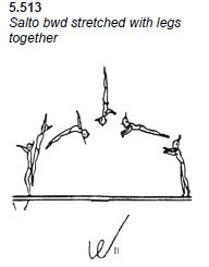 back layout body position diagram from the code of points manual Cheerleading Jumps Diagram back layout body position diagram from the code of points manual gymnastics drills tutorials gymnastics, cheer, layout
