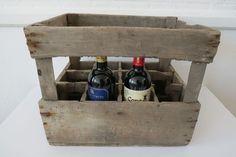 Vintage Wooden French Rustic Wine Rack Wine Box Holder   eBay