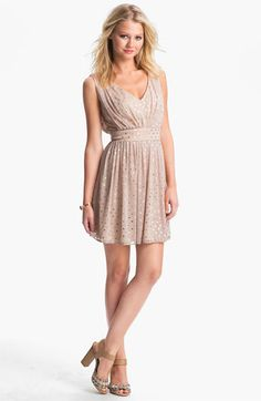 As U Wish Foil Dot Party Dress (Juniors) available at Nordstrom @Kathryn Walker thoughts??
