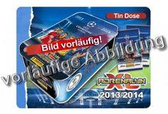Panini Adrenalyn XL Trading Cards – UEFA Champions League 2013/14 – Tin Box. . http://www.champions-league.today/panini-adrenalyn-xl-trading-cards-uefa-champions-league-201314-tin-box/.  #Champions League #GBP #UEFA Champions League #UEFA CHAMPIONS LEAGUE 2013