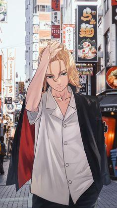 Mikey, fashion design, tokyo revengers, draken, japan, anime, HD mobile wallpaper