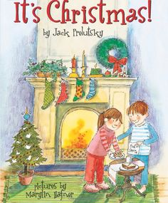 """""""It's Christmas!"""" by Jack Prelutsky, illustrated by Marylin Hafner, 2012 (http://www.amazon.com/dp/0060537086/ref=rdr_ext_sb_ti_sims_1)"""
