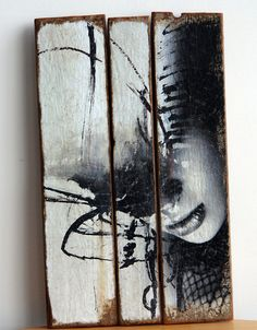 Abstract girl por MYLOVT en Etsy, €75.00 Driftwood Art, Face Art, Painting Techniques, Antonio Mora, Book Art, Modern Art, Art Projects, Art Photography, Digital Art