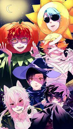 Halloween RFA characters