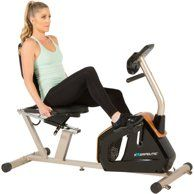 Exerpeutic 1000 High Capacity Magnetic Recumbent Exercise Bike With Pulse Walmart Com Biking Workout Recumbent Bike Workout Workout Programs