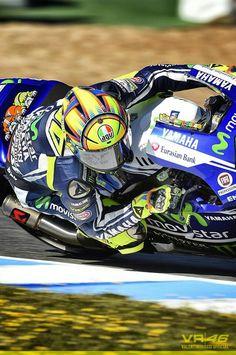 Valentino Rossi. Jerez 2014