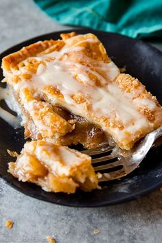 Slab pies feed a crowd and this simple apple slab pie with maple icing is always a crowd-pleaser!