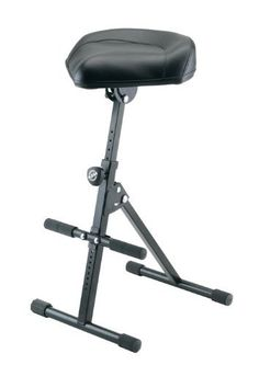 K Performance Stool by K Stands. $239.99. The performance stool with POWER for cellists, bassists and keyboard players. It's strong pneumatic spring conveniently enables height adjustment while sitting. The angle of the leather seat can easily be adjusted; the footrest is adjustable as well.. Save 25%!