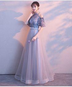 Women S Fashion Sneakers Cheap Silver Dama Dresses, Pink Prom Dresses, Pretty Dresses, Beautiful Dresses, Formal Dresses, Asian Prom Dress, Dress Outfits, Fashion Dresses, High Low Prom Dresses