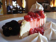 Desserts bursting with fresh, local fruits.