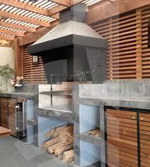 Resultado de imagen para quinchos modernos pequeños Patio Kitchen, Summer Kitchen, Indoor Outdoor Living, Outdoor Rooms, Outdoor Decor, Barbecue, Parrilla Exterior, Built In Braai, Gazebo