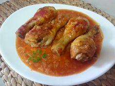 Jamoncitos de pollo en microondas - COCINA FÁCIL - La cocina de Pedro y Yolanda