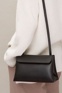 Triangle Shape Crossbody Bag
