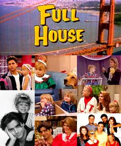 oh, the 90s...LOVED this show. i was too young to understand why the show ended...i remember crying during the part where the entire cast came out and did a final bow...so silly, but so sweet. i love the tanner family!