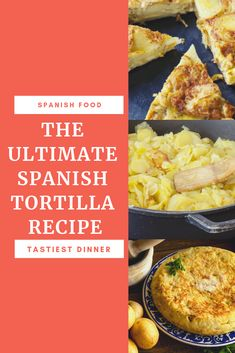 The tortilla de patatas or Spanish tortilla is a quintessentially Spanish dish. It's origins have been traced to a housewife and a hungry general at war. The ingredients for an authentic Spanish omelet include eggs, a good quality olive oil, potatoes and optionally onions. Check out our recipe to turn these simple ingredients into a dinner #ilivespain #spain #spanishfood #dinnerrecipe