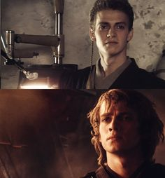 Anakin Skywalker: before and after ... this really breaks my heart - Star Wars Episode II: Attack of the clones + Star Wars Episode III: Revenge of the Sith <<< Still Cute though