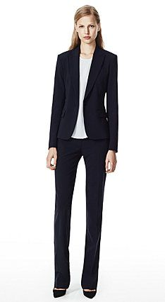 Suits: Theory GABE B 2 JACKET & MAX 2 PANT URBAN STRETCH WOOL (in uniform)
