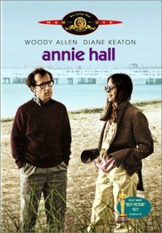 Annie Hall  O filme conta a história de Alvy Singer (Woody Allen), um humorista judeu e divorciado que faz análise há quinze anos. Ele acaba se apaixonando por Annie Hall (Diane Keaton)