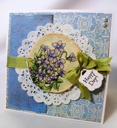 Stamping on Canvas -- you should try it!