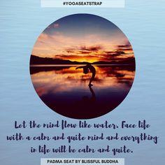 Yoga Pics, Yoga Pictures, Yoga For Balance, Yoga Strap, Daily Motivation, Mind Blown, Namaste, Buddha, Meditation