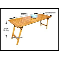 Mesa Madera Tablon Caballetes Patas Plegables Quincho 2.00 M - $ 2.040,00 Folding Furniture, Side Coffee Table, Ping Pong Table, Picnic Table, Diy Design, Woodworking, Projects, Home Decor, Nordstrom