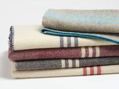 Striped Wool Throw   Coyuchi
