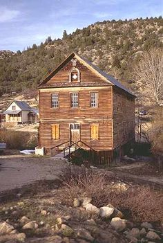 Silver City: The Town Contains Many Old And Interesting Buildings In  Various Stages Of Disrepait