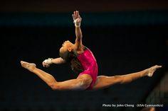 Gabby Douglas - US Gymnastics   Go girl !!