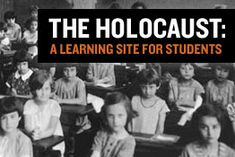 "Excellent bank of resources to use for teaching ""Night"" and other texts about the Holocaust; verified and credible source: United States Holocaust Memorial Museum 6th Grade Social Studies, Social Studies Classroom, History Classroom, Teaching Social Studies, Teaching History, Student Teaching, Ela Classroom, Classroom Resources, School Teacher"