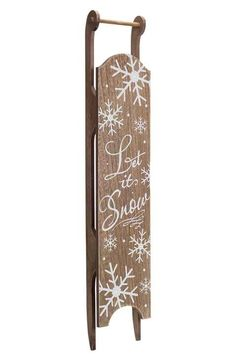 Melrose Gifts LED Sleigh Wall Decoration