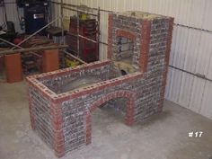 Building a Brick Forge - 100 Series - I Forge Iron Metal Projects, Welding Projects, Metal Crafts, Diy Welding, Build A Forge, Diy Forge, Home Forge, Blacksmith Forge, Blacksmith Workshop