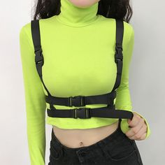 Never Mind Halter Bodysuit Embroidered Leotard Top Womens T Shirt Tumblr Hipster Grunge Vtg Swag Slogan Kawaii Cute Goth Fashion Band