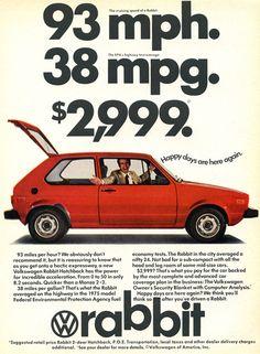 "I'm not a VW ""crazy"" - but this is the 80s, so it's all good."