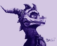 Spyro the Dragon artwork