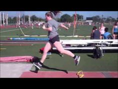 Triple jump for beginners taught by Keinan Briggs Track Drill, Triple Jump, Long Jump, Track Workout, Medicine Ball, I Work Out, Gym Rat, Track And Field, Pilates