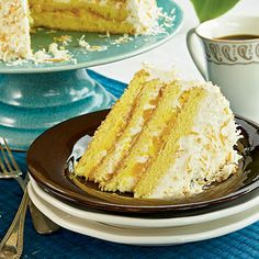 Float Away Layer Cake   Learn how to make Float Away Layer Cake. MyRecipes has 70,000  tested recipes and videos to help you be a better cook