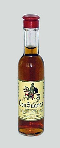 Valenti Eridanea - Mini Liquor Bottles - Brandy Don Suarez - https://sites.google.com/site/valentieridanea/