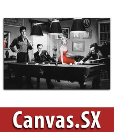 Marilyn Monroe Elvis Presley James Dean Canvas Print Picture By Chris Consani in Art, Canvas/Giclee Prints | eBay