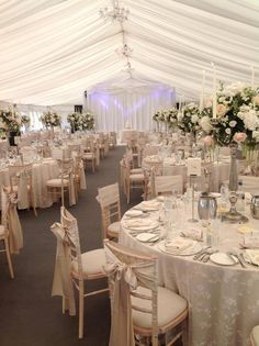 Lawless Flowers based in Limerick is the West of Ireland's leading florist and their heritage sp. White Flower Centerpieces, Ceremony Decorations, Table Decorations, Silver Candelabra, Pink White, Pale Pink, White Flowers, Wedding Bouquets, Real Weddings