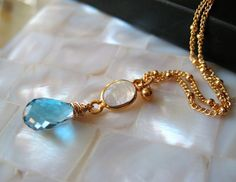 Moonlight London petite necklace by amitiedesigns on Etsy, $52.50