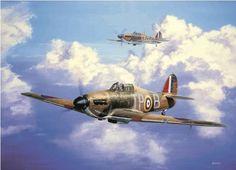 Hurricanes of 73 Squadron