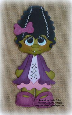 Conjunto Matilda Halloween Premade Scrapbooking adorno papel