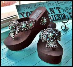 313d05462881a Cross Fire Tooled Flip Flops-cowgirl jewelry