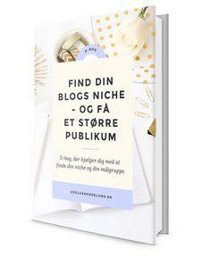 Blogger du om alt mellem himmel og jord, og synes du, at din blog mangler fokus? Så få min nye e-bog, der hjælper dig med at finde din blogs niche.