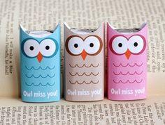 Free Owl Miss You Printable www.247moms.com #247moms
