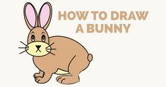 Animal Drawings, Cartoon Drawings, Cute Bunny, Bunny Rabbit, Superman Drawing, Popular Cartoons, Rabbit Drawing, Step By Step Drawing, Cartoon Styles