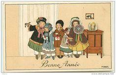 Postkaarten Thema's Illustratoren  Fotografen Illustrators - Gehandtekend Ebner, Pauli - Delcampe.net
